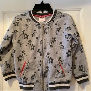 Hanna Anderson Girls Sweatshirt Zipper Jacket-6/7
